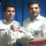 مادر اصفهانی نوزاد خود را در پراید به دنیا آورد