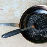 آموزش تمیز کردن ظروف سوخته شده