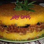 طرز تهیه ته چین قارچ مرغ