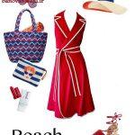 ست لباس های رنگی برای تابستان