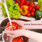 ضد عفونی کردن سبزیجات با محلول خانگی!