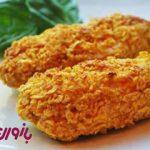طرز تهیه ناگت مرغ با ذرت