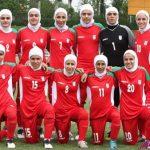 ۴ بازیکن مرد در تیم ملی فوتبال بانوان ایران