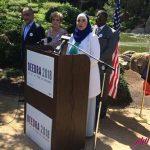 عبود زن مسلمان محجبه نامزد مجلس سنا در آمریکا می شود